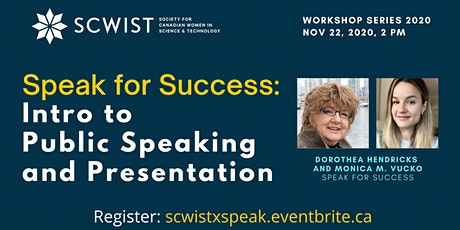Speak for Success: Intro to Public Speaking & Presentations tickets