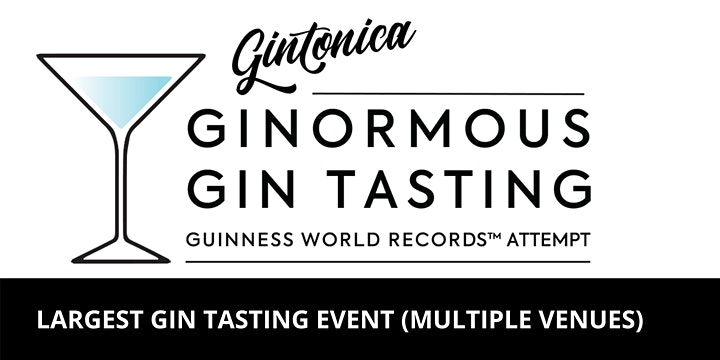 GINTONICA GINORMOUS GIN TASTING | FIRST EDITION RESTAURANT & BAR image