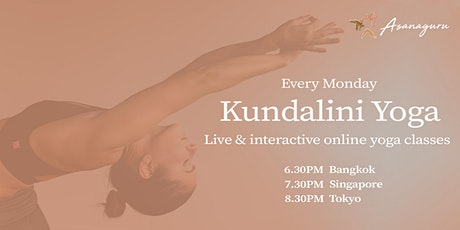 Kundalini Yoga Group Classes by Asanaguru | Mondays evening (APAC) tickets