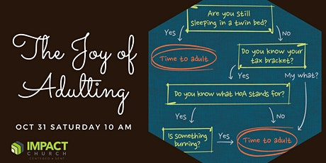 Impact Church Seminars: Adulting tickets