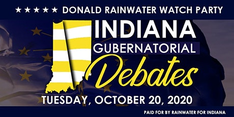 Liberty Rocks! Donald Rainwater Debate Watch Party tickets