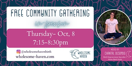 Community Gathering tickets