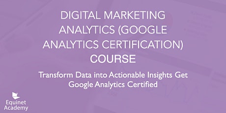 WSQ Digital Marketing Analytics (Google Analytics) Course