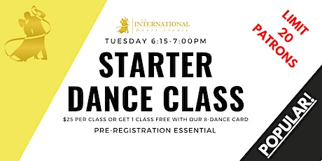 [NOVEMBER] Join 4 Adult Starter Ballroom & Latin Dance Classes! tickets