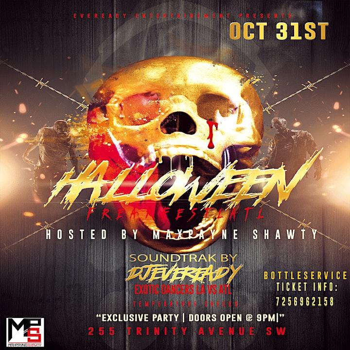 Halloween 2020 Soundtrak FREAKFESTLATL Tickets, Sat, Oct 31, 2020 at 9:00 PM | Eventbrite