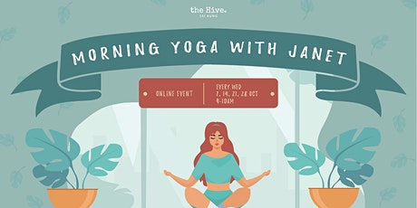 Online Series: Morning Yoga with Janet tickets