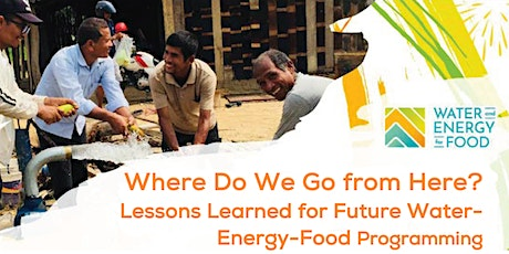 Where Do We Go from Here? Lessons Learned for Future WEF Programming. tickets