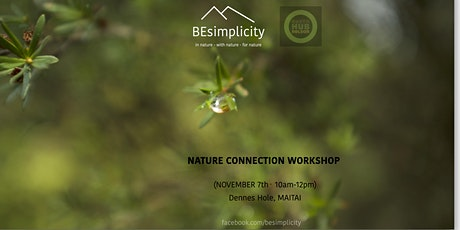 NATURE CONNECTION WORKSHOP tickets