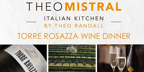 Torre Rosazza Wine Dinner @ Intercontinental Grand Stanford Hong Kong tickets