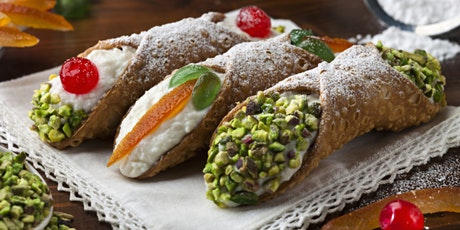 SICILIAN CANNOLI WITH FAMILY FOOD FIGHT CONTESTANT CONCETTA PLUCHINOTTA tickets