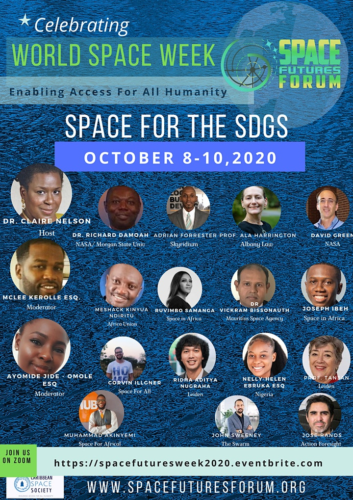 Space Futures Forum - SPACE FOR THE SDGs image