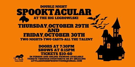 Double Night Spooktacular tickets