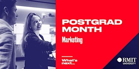 RMIT Postgrad Month: What's Next in Marketing tickets