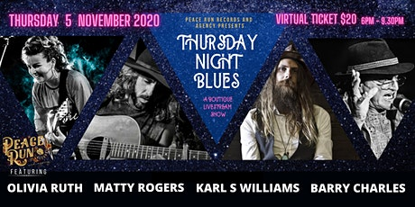 Peace Run Records Presents Thursday Night Blues tickets