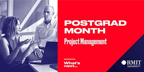 RMIT Postgrad Month: What's Next in Project Management tickets