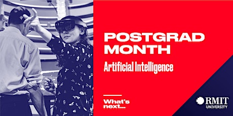 RMIT Postgrad Month: What's Next in AI tickets