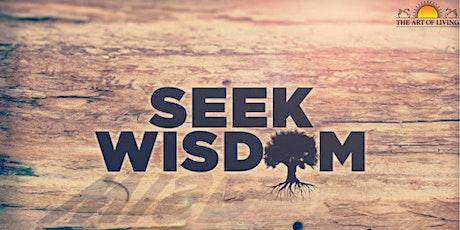 Online Wisdom Series tickets