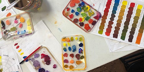 Colour Mixing Workshop - painting with acrylic tickets