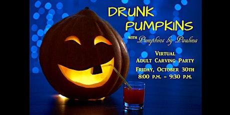 DRUNK PUMPKINS Adult Pumpkin Carving Party tickets