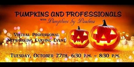 PUMPKINS AND PROFESSIONALS Networking Pumpkin Carving Event tickets