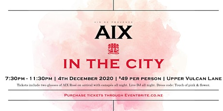 Aix in the City tickets
