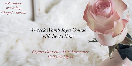 4-Week Womb Yoga with Becki Sams tickets