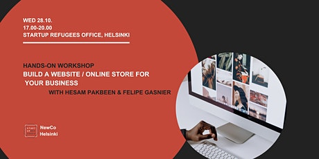 Hands on: Build a website / online store for your business tickets