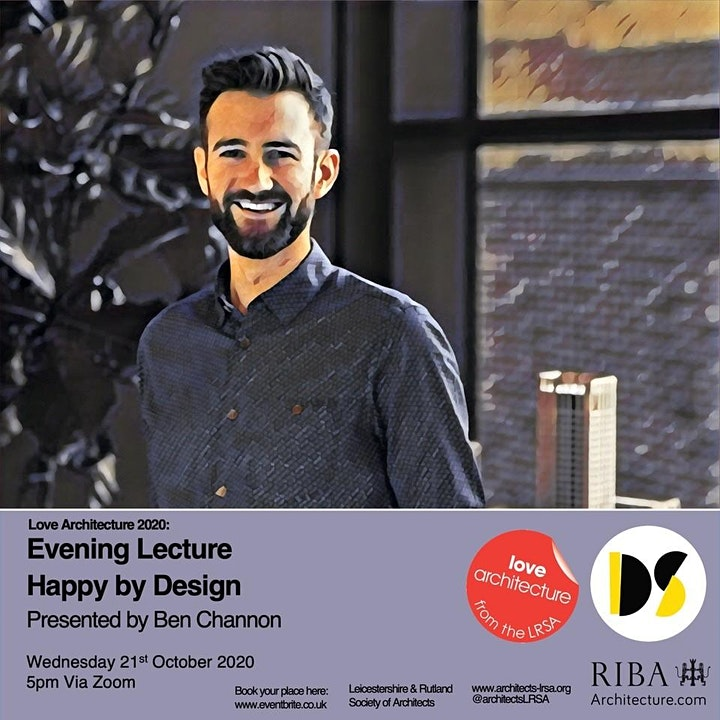 LOVE ARCHITECTURE - Evening Lecture with Ben Channon image