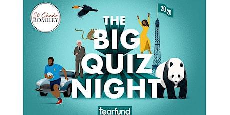 St Chads Tearfund Big Quiz tickets