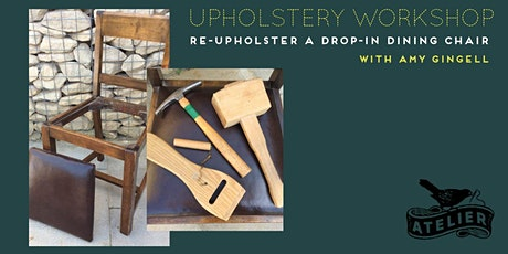 Upholstery workshop with Amy Gingell tickets