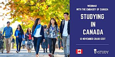 Free webinar Studying in Canada