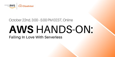 AWS Hands-On: Falling In Love With Serverless tickets