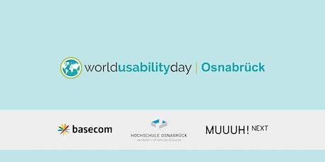 World Usability Day Osnabrück 2020 Tickets