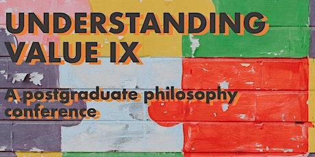 Understanding Value IX online! tickets