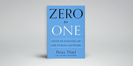 Book Review & Discussion : Zero to One tickets