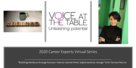Career Experts Virtual Session - Building Resilience Through Humour tickets