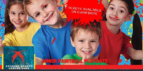 Junior Paintball Playdate tickets