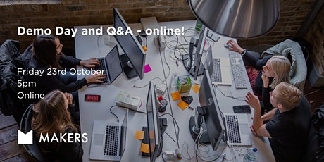 Demo Day and Q&A - online! tickets