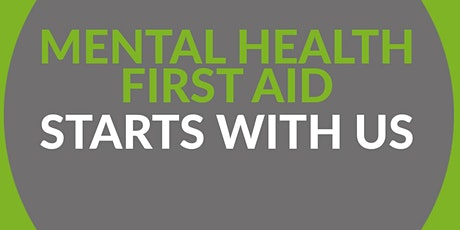 Mental Health First Aid Training- Virtual |Northumbria Students tickets