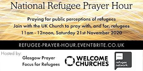 UK Church Refugee Prayer Hour: perceptions of refugees tickets