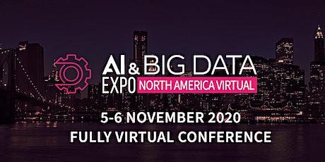 AI & Big Data Expo North America Virtual 2020 tickets