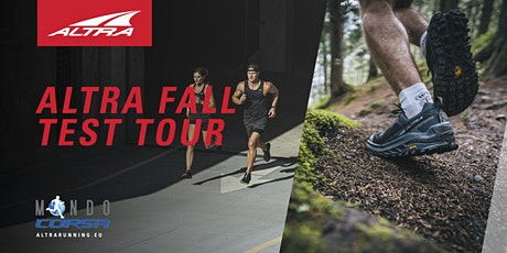 Altra Running Test Experience by Mondo Corsa tickets