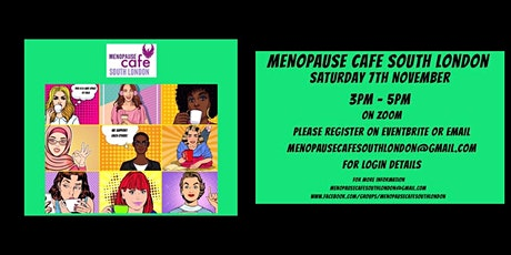 Menopause Cafe - South London tickets