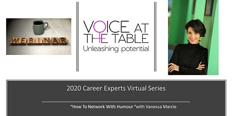 Career Experts Virtual Session: How To Network With Humour tickets