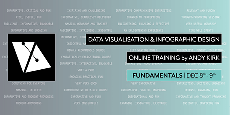 Fundamentals of Data Visualisation & Infographic Design | Online Training tickets
