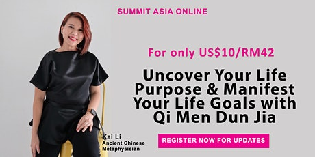 Learn Ancient Chinese Metaphysics to Manifest Your Life Goals and Dreams tickets