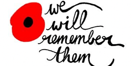 Remembrance Sunday Service - booking as a family tickets