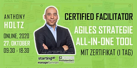 Agiles Strategie into Action All-in-One Tool: FACILITATOR (Online) Tickets