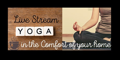 Live Stream Yoga on ZOOM tickets