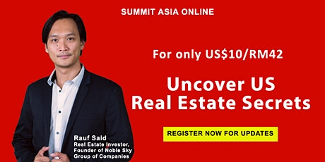 Discover Proven Strategies to Invest in US Real Estate tickets